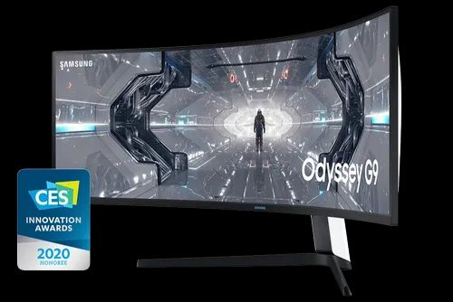 Samsung Curved Gaming QLED Monitor - C49G95T - Odyssey G9 49-inch (Black)