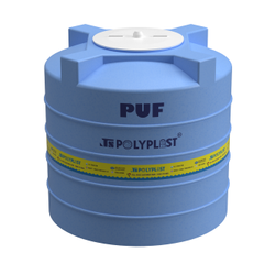 JS Polyplast 4 Layer PUF Insulated Tank, Storage Capacity: 500L