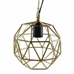 MKI Iron Football Hanging Lamp, Packaging Type: Box, Packaging Size: Proper Packing