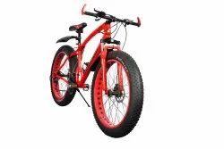 SANXINGCN Red Jaguar Fat Tyre Cycle