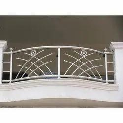 Designer Stainless Steel Balcony Railing