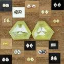 Natural Fancy Pair Diamonds For Earrings, Size: Variable