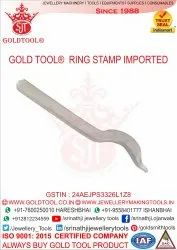 Gold Tool Bend Stamp