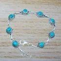 Amethyst Gemstone 925 Sterling Silver Jewelry New Fashion Bracelet Wb-5139