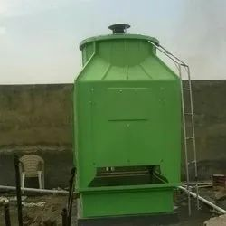 Active Cross Flow Square Type Cooling Tower, Capacity: 25 TR
