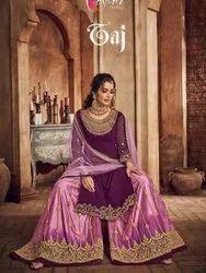 Kesari Trendz Taj Vol-1 Georgette Designer Palazzo Style Suits Catalog