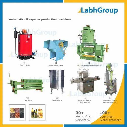 Advance High Capacity Oil Seeds Expeller Machine