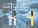Hotel, Service Apartments Bluetooth Mifare Rfid Electronic Lock, Miwa Japan, Packaging Size: <10
