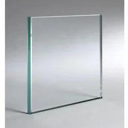 Transparent Plain Toughened Glass, Size: 101-500 Square Feet