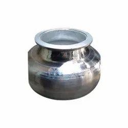 Aluminium Round Silver Degda, Size: 8 Kg