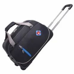Classic India Black Trolley Bag, For Tour