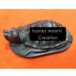 Black Marble Tortoise Statue