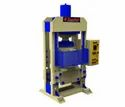 Hydraulic Press With Adjustable Bed