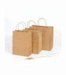 棕色回收牛皮纸包,购物