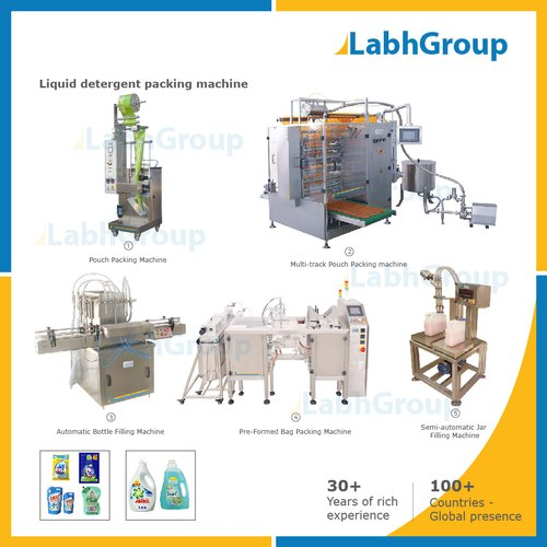 Liquid Detergent Packing Machine