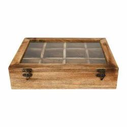 Wooden Spice / Tea / Mouthfreshner Box