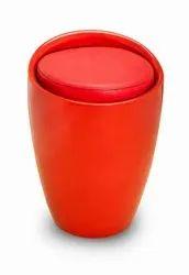 Leather FRP Luxury seating Stool