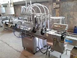 Automatic Pesticides Bottle Filling Machine