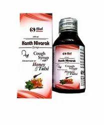 Kanth Nivarak Ayurvedic Cough Syrup, 100 ml