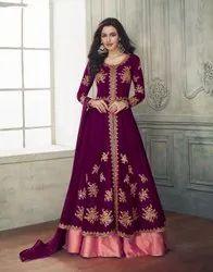 Heavy Georgette Ladies Indian Wear Gown