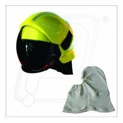 Fire Fighter Helmet With Balaclava Hood