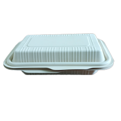 玉米淀粉矩形食品容器,包装类型:盒子