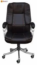 Leather 613 Durafur Black High Back Office Chair