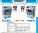 Niscomed Single Flow Oxygen Concentrator 5 LPM