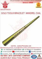 Gold Tool Bracelet Iron Mandrel