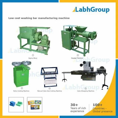 Low Cost Washing Bar Manufacturing Machine