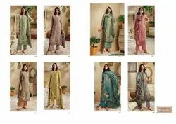 Kesar Karachi Launch Zara Pashmina Digital Print Salwar Suits At Wholesale Rate