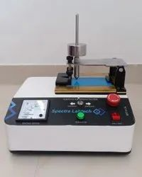 Scratch Hardness Tester Electrically Operated
