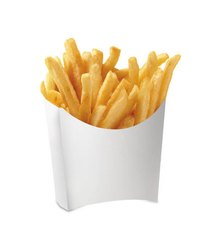 GUJARAT SHOPEE Paper White French Fries Box - Big