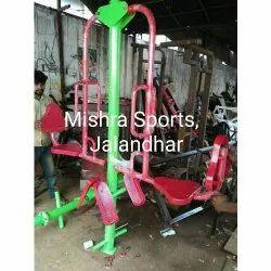 Mild Steel Double Leg Press Machine