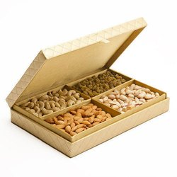 Cardboard Dry Fruits Gift Pack