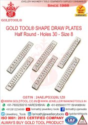Gold Tool Draw Plates