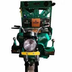 Green Toto Electric Rickshaw