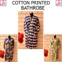 Handmade Printed Cotton Bathrobe