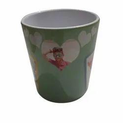 White (Base Color) Ceramic Photo Printed Coffee Mug, For Gifting