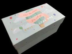 Cardboard Rectangular Rigid Box, Size/Dimension: 8
