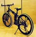 Black Mercedes Benz 3s Foldable Cycle