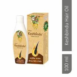 Natural 100% Herbals Keshbindu Herbal Hair Oil, Bottle, Packaging Size: 100ml