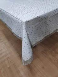 White Plain Dining Table Cloth
