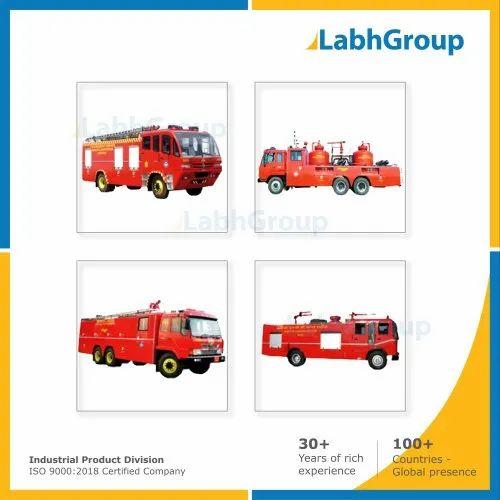 Fire Tender & Vehicle