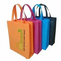 Printed Go Green Non Woven Bags, Capacity: 10kg