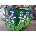 Electric Garbage Rickshaw