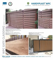 WPC GATE CLADDING