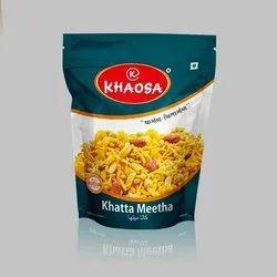 KHAOSA Khatta Meetha Mixture Namkeen, Packaging Size: 400GM