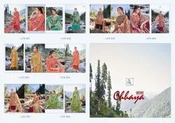 ALOK SUITS PRESENTING CHHAYA PURE WOOL PASHMINA DIGITAL PRINT CASUAL WEAR SUITS