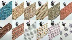Hand Block Animal Print Fabric